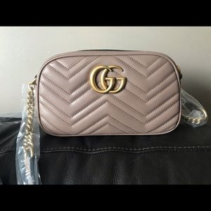 Brand New Gucci GG Marmont Crossbody Bag
